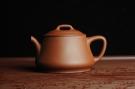 紫砂壶图片:美壶特惠 摹李寒勇影瓢 老清水泥 茶人醉爱 - 宜兴紫砂壶网