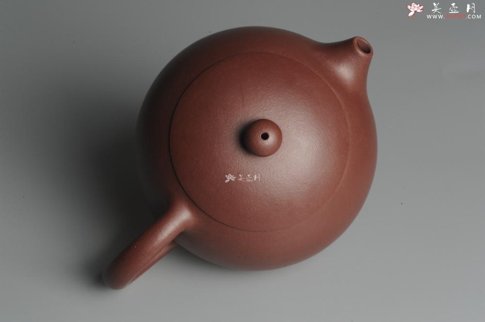 紫砂壶图片:全手工端庄秀雅倒把小西施 - 宜兴紫砂壶网