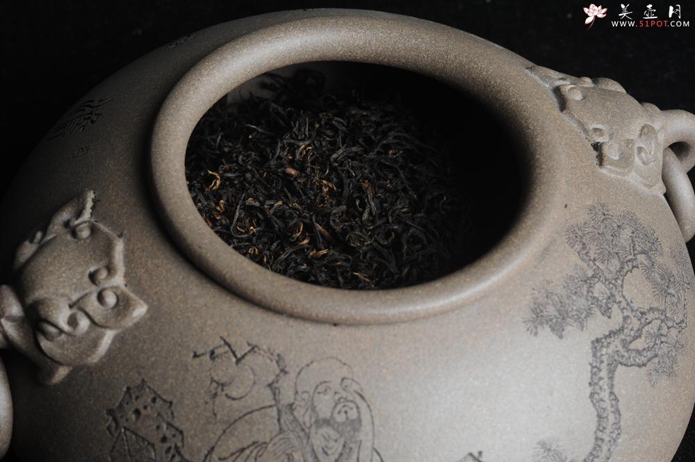 紫砂壶图片:阳羡明后雨前茶 采摘4.9 细嫩叶芽 4.10手工炮制新鲜出炉 弥香沁脾 90g每次泡茶可泡5到6泡 - 宜兴紫砂壶网