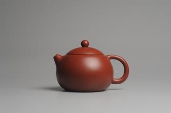 紫砂壶图片:美壶特惠 经典优质大红袍朱泥西施 做工精致 - 宜兴紫砂壶网