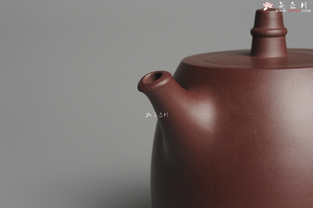 紫砂壶图片:美壶特惠 精工汉铎壶 明针优秀 嵌盖难度大 - 宜兴紫砂壶网