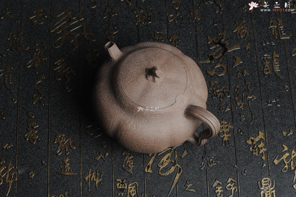 紫砂壶图片:美壶特惠 学苑派全手工精工仿生壶 小瓜  - 宜兴紫砂壶网
