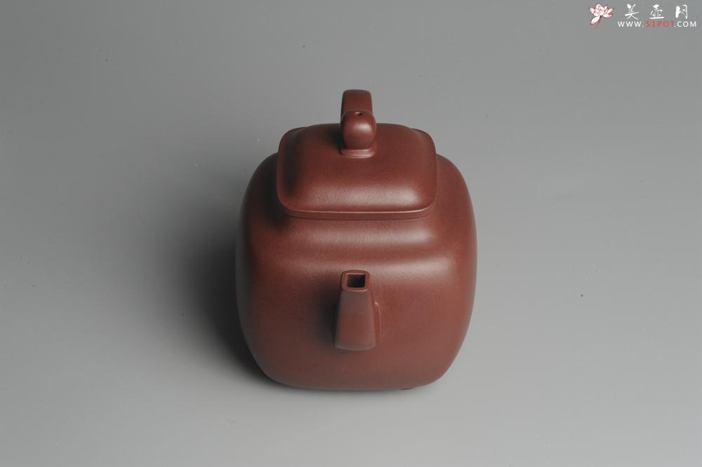 紫砂壶图片:实力派张海艳全手工鸣远四方 气势磅礴 用心之作 - 宜兴紫砂壶网