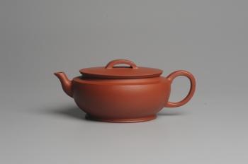 紫砂壶图片:美壶特惠 老清水泥 精致大蕴汉瓦 大口实用 茶人醉爱 - 宜兴紫砂壶网