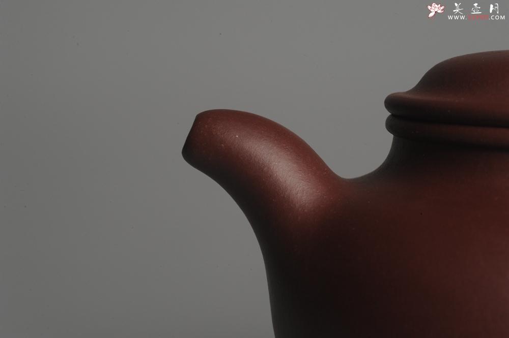 紫砂壶图片:实力派杨老师全手工紫茄泥大亨掇只 深得其味 泥料灰常油润 - 宜兴紫砂壶网