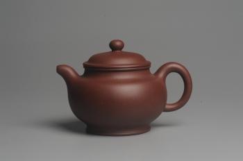 紫砂壶图片:美壶特惠 优质底曹青精致做工小掇只 茶人醉爱 - 宜兴紫砂壶网