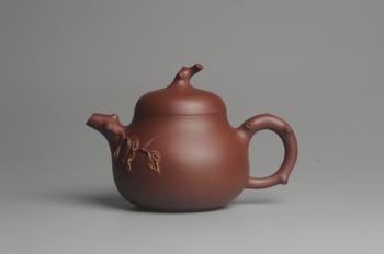 紫砂壶图片:美壶特惠 精致小花货瓜熟蒂落 - 宜兴紫砂壶网