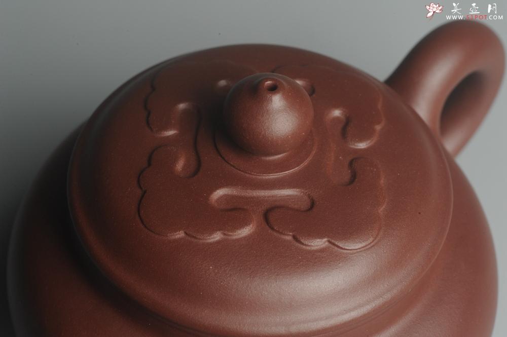 紫砂壶图片:美壶特惠精工大彬如意壶 做工精致 茶人醉爱 - 宜兴紫砂壶网