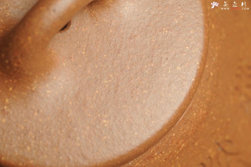 紫砂壶图片:油润五彩段泥 全手工薄胎精品子冶石瓢 难度大 骨肉匀挺 文气装饰高士采耳图 道法自然 - 宜兴紫砂壶网