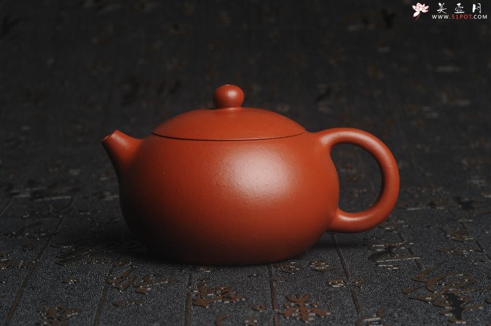紫砂壶图片:特油润朱泥 全手工秀美可爱小巧西施 难得美品 - 宜兴紫砂壶网