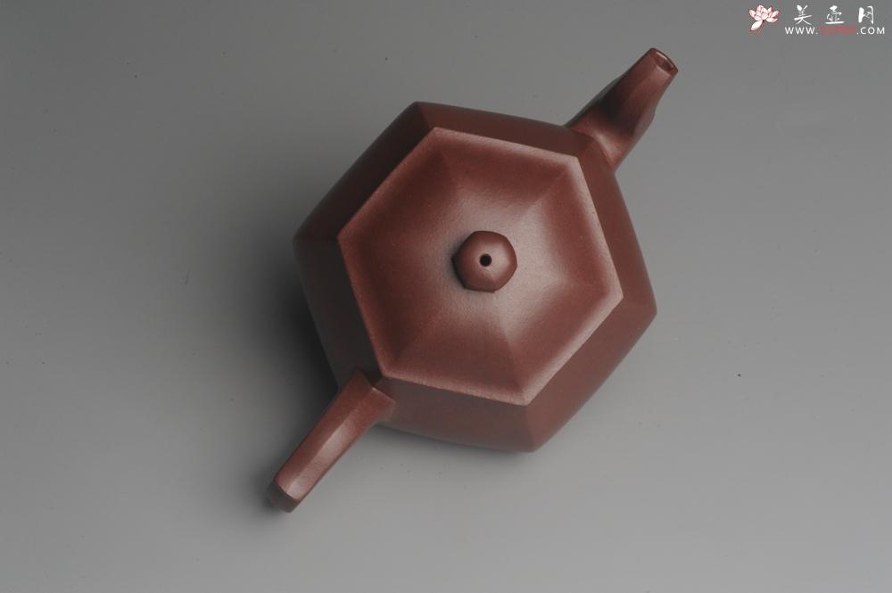 紫砂壶图片:全手工六方高韵 韵味悠长 - 宜兴紫砂壶网