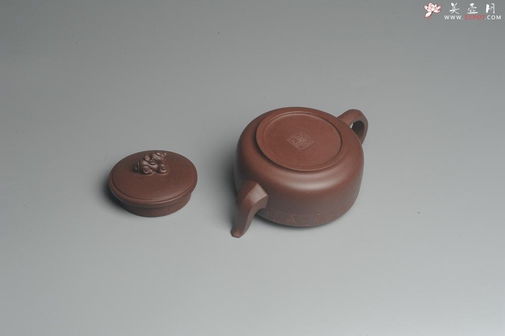 紫砂壶图片:美壶特惠 精工祥瑞壶 出水如柱 - 宜兴紫砂壶网