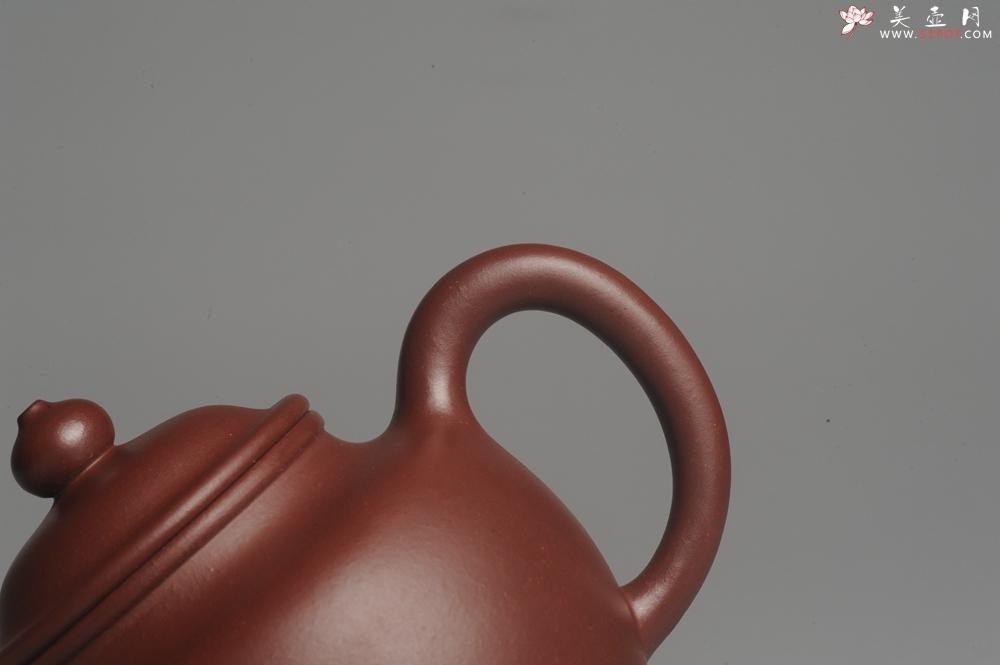 紫砂壶图片:油润黄龙山4号深井红皮龙 全手工高灯壶 东西灰常赞 - 宜兴紫砂壶网