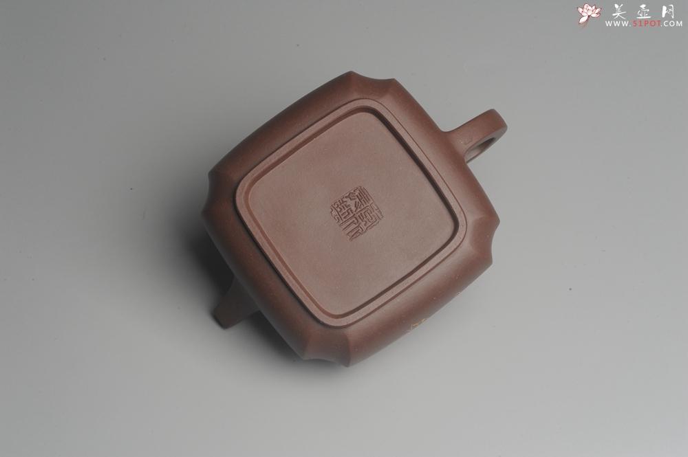 紫砂壶图片:美壶年底特惠 大气端庄 线条流畅 精致全手工抽角石瓢 - 宜兴紫砂壶网
