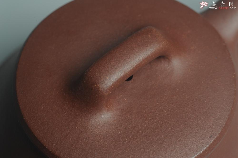 紫砂壶图片:美壶年底特惠 精工好紫泥曲石瓢 喜欢小品的来 性价比高 - 宜兴紫砂壶网