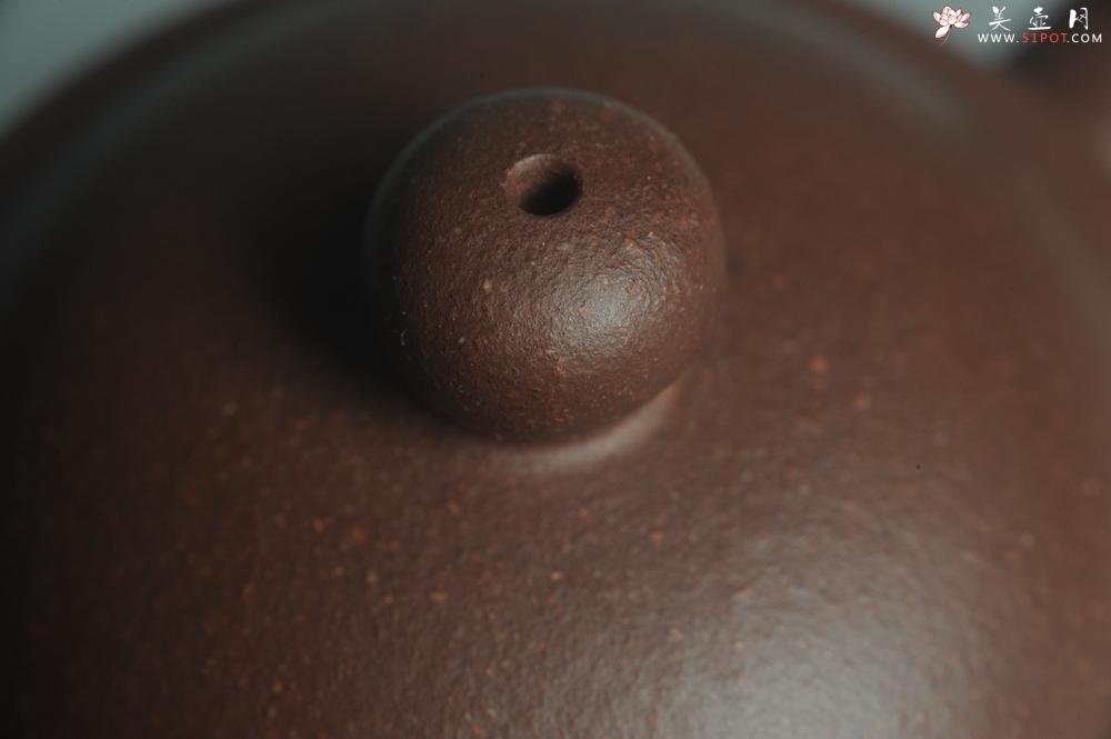紫砂壶图片:美壶特惠 全手工优质老拼紫泥刹凹成型单片拍打潘壶 - 宜兴紫砂壶网