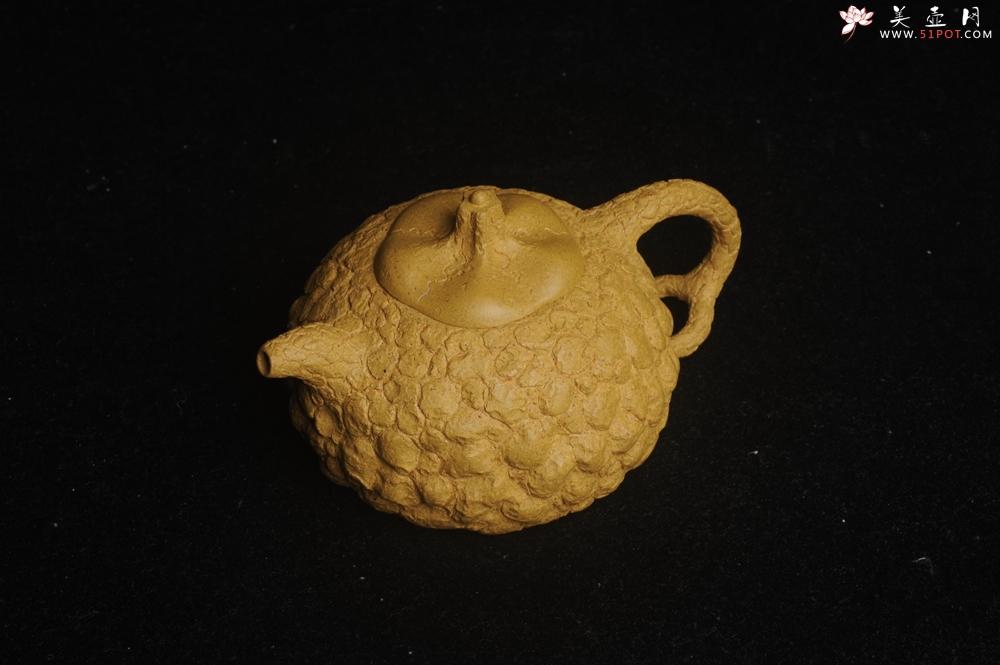 紫砂壶图片:美壶特惠 全手工黄段供春 肌理有老树瘿的感觉 灰常赞 - 宜兴紫砂壶网