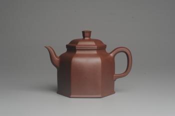 紫砂壶图片:美壶特惠 精致全手工六方金钟 泥料超好 - 宜兴紫砂壶网