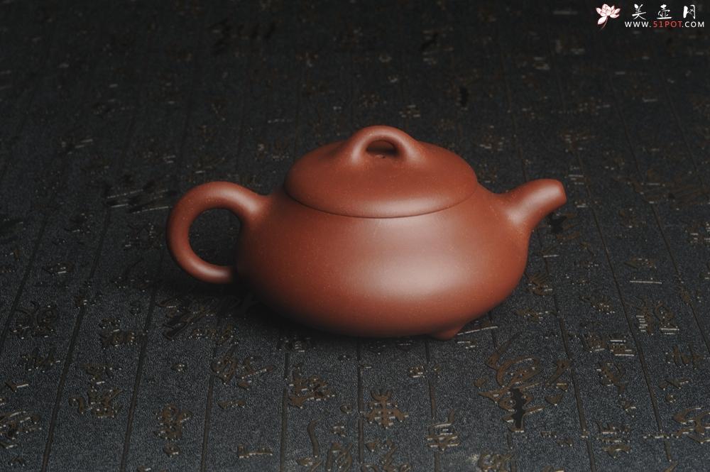紫砂壶图片:美壶特惠 精致汉棠石瓢壶 茶人醉爱 - 宜兴紫砂壶网