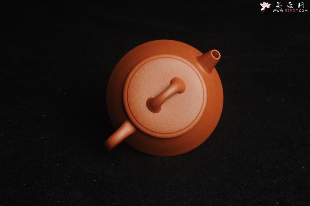 紫砂壶图片:美壶特惠 精工红降坡平盖小石瓢 小壶超难做 杀茶利器 - 宜兴紫砂壶网