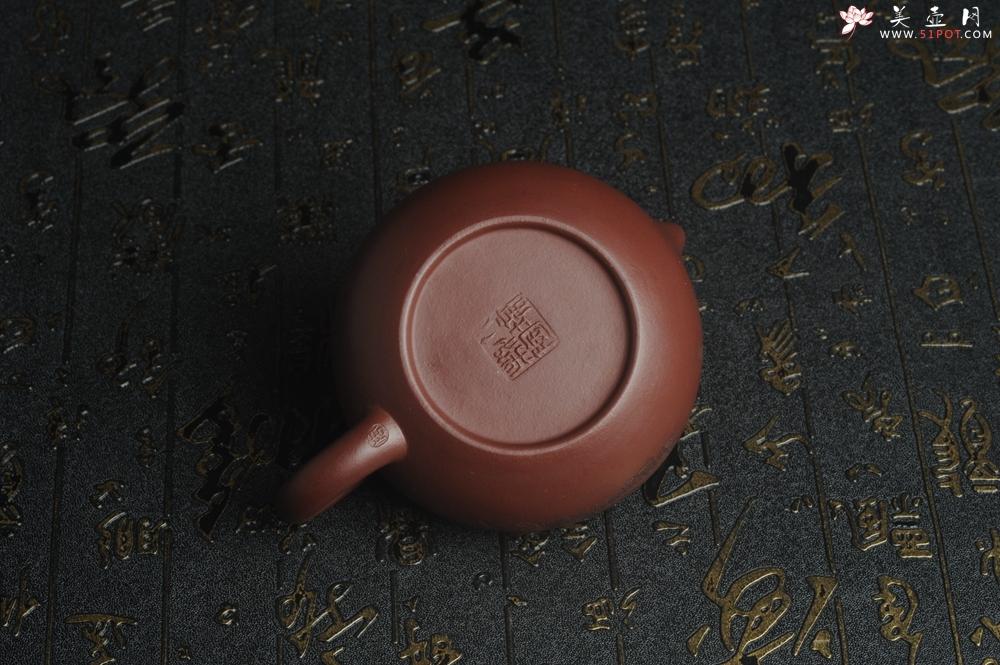 紫砂壶图片:油润底曹青 全手工矮文旦 装饰人物 特文气 - 宜兴紫砂壶网
