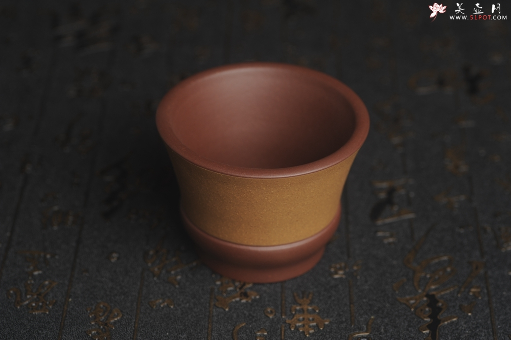 紫砂壶图片:美杯特惠 好泥好工雅致特厚实主人杯 茶人醉爱 - 宜兴紫砂壶网