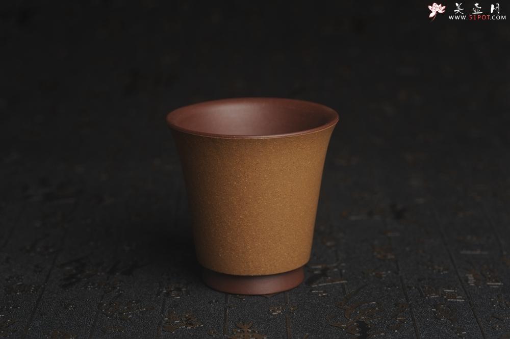 紫砂壶图片:美杯特惠 精品好泥好工厚实高桶主人杯 - 宜兴紫砂壶网