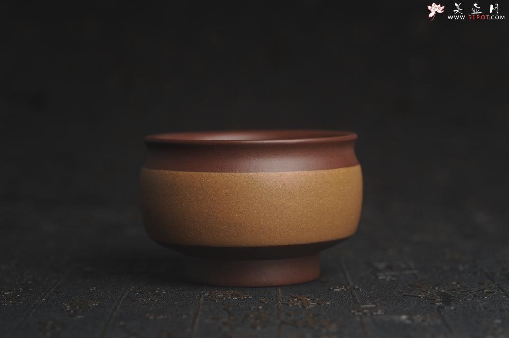 紫砂壶图片:美杯特惠 好泥好工雅致特厚实主人杯压手杯 茶人醉爱 - 宜兴紫砂壶网