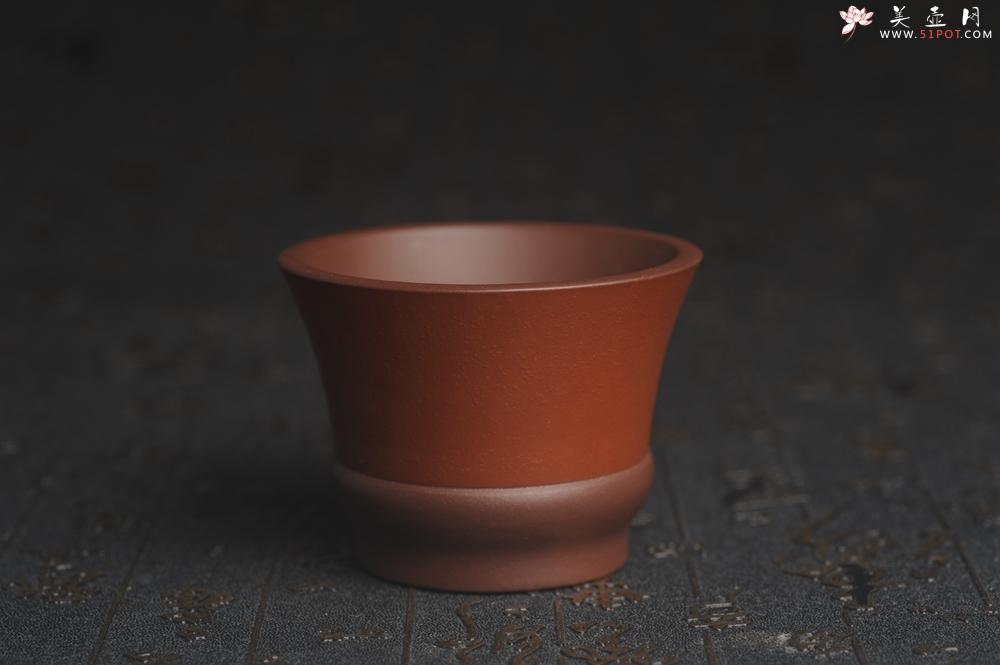 紫砂壶图片:美杯特惠 好泥好工雅致特厚实主人杯 - 宜兴紫砂壶网