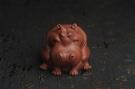 紫砂壶图片:美宠特惠 精品优质紫泥财大气粗 河马 紫砂茶宠摆件 长11cm宽8cm高8cm - 宜兴紫砂壶网