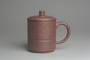 紫砂壶图片:优质紫泥 上善若水杯 美杯特惠 - 宜兴紫砂壶网