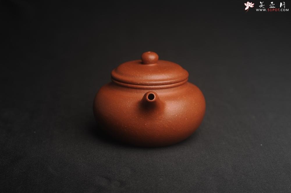 紫砂壶图片:油润降坡泥 超精致全手工仿古壶 气韵流畅 - 宜兴紫砂壶网