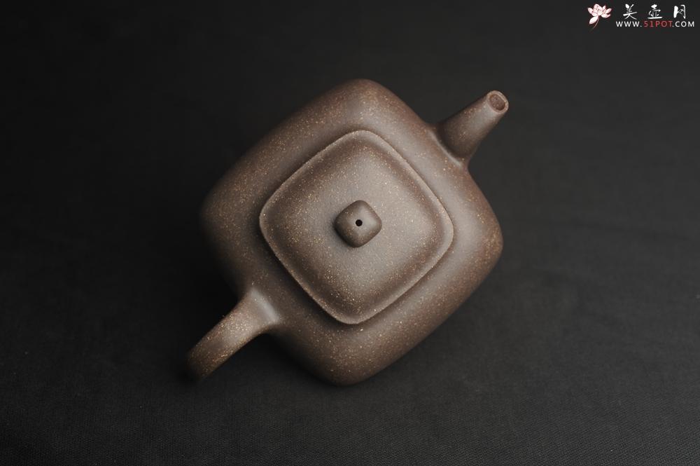 紫砂壶图片:实力派张海艳全手工特好老青灰段泥传炉壶 线面挺括 大气 做工特好 - 宜兴紫砂壶网