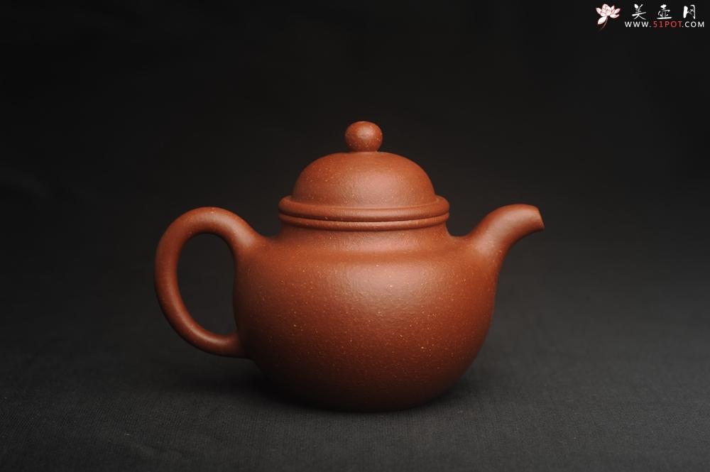 紫砂壶图片:美壶特惠 精致降坡泥寿珍掇球茶壶 性价比高 茶人醉爱 - 宜兴紫砂壶网
