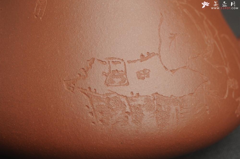 紫砂壶图片:特好底曹青 全手工小子冶石瓢 品一壶香茗做半日神仙 装饰特文气 期待与亲结缘 - 宜兴紫砂壶网