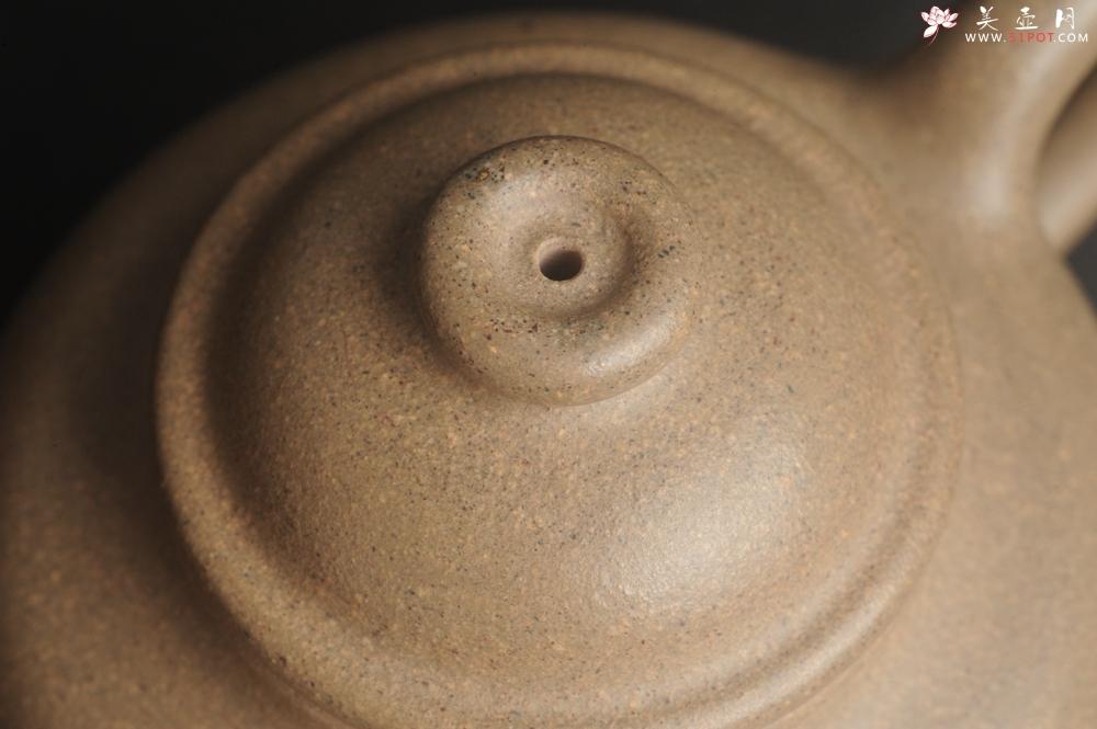 紫砂壶图片:特好高温本山老段泥 全手工大彬圈钮紫砂壶 - 宜兴紫砂壶网