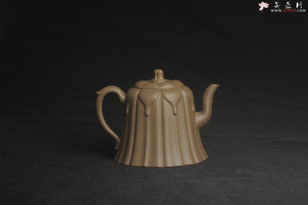 紫砂壶图片:美壶特惠 精致青段滴水之恩壶 - 宜兴紫砂壶网