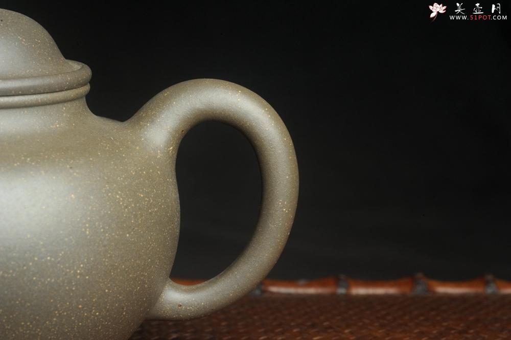 紫砂壶图片:美壶特惠 精致青段大亨掇只壶 茶人醉爱 - 宜兴紫砂壶网