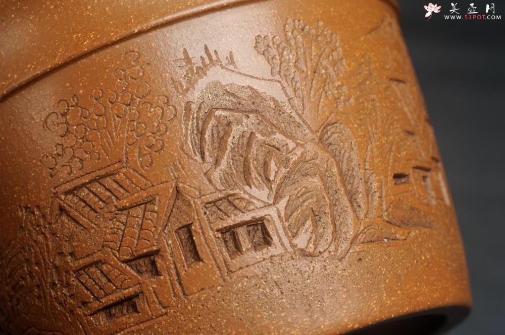 紫砂壶图片:美杯特惠 精致降坡泥江南春主人杯 - 宜兴紫砂壶网