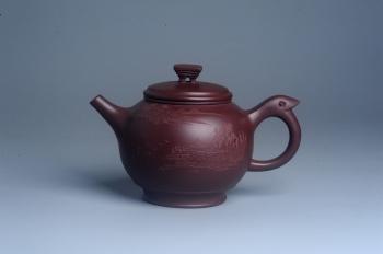 紫砂壶图片:美壶特惠 优质紫泥精致凤鸣壶 - 宜兴紫砂壶网