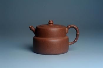 紫砂壶图片:美壶特惠 精致秀雅趣竹壶 茶人醉爱 - 宜兴紫砂壶网