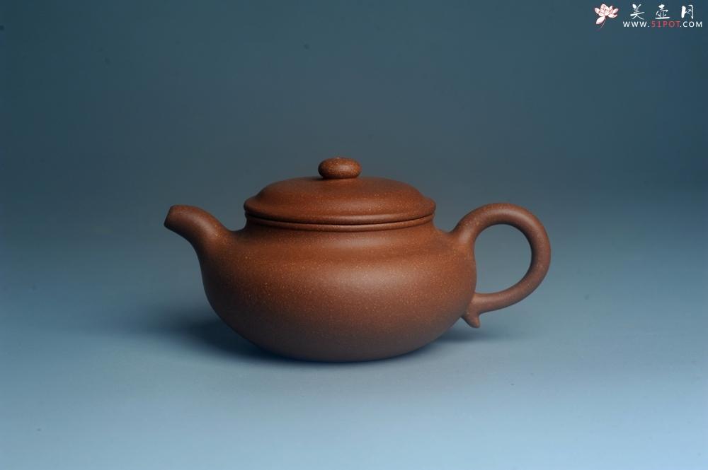 紫砂壶图片:美壶特惠 精致黄降坡泥仿古壶 茶人醉爱 - 宜兴紫砂壶网