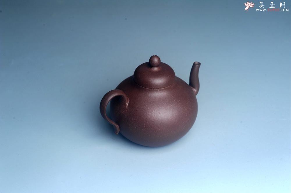 紫砂壶图片:美壶特惠 黑星红拼紫泥(家藏限量) 小清新 茶人醉爱 - 宜兴紫砂壶网